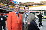 18 November 2007: Houston Dynamo President Oliver Luck (l) and MLS President Mark Abbott (r). The Houston Dynamo defeated the New England Revolution 2-1 at RFK Stadium in Washington, DC in MLS Cup 2007, Major League Soccer's championship game.