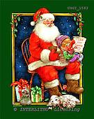 GIORDANO, CHRISTMAS SANTA, SNOWMAN, WEIHNACHTSMÄNNER, SCHNEEMÄNNER, PAPÁ NOEL, MUÑECOS DE NIEVE, paintings+++++,USGI1583,#X#