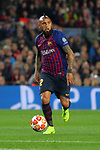 UEFA Champions League 2018/2019.<br /> Quarter-finals 2nd leg.<br /> FC Barcelona vs Manchester United: 3-0.<br /> Arturo Vidal.