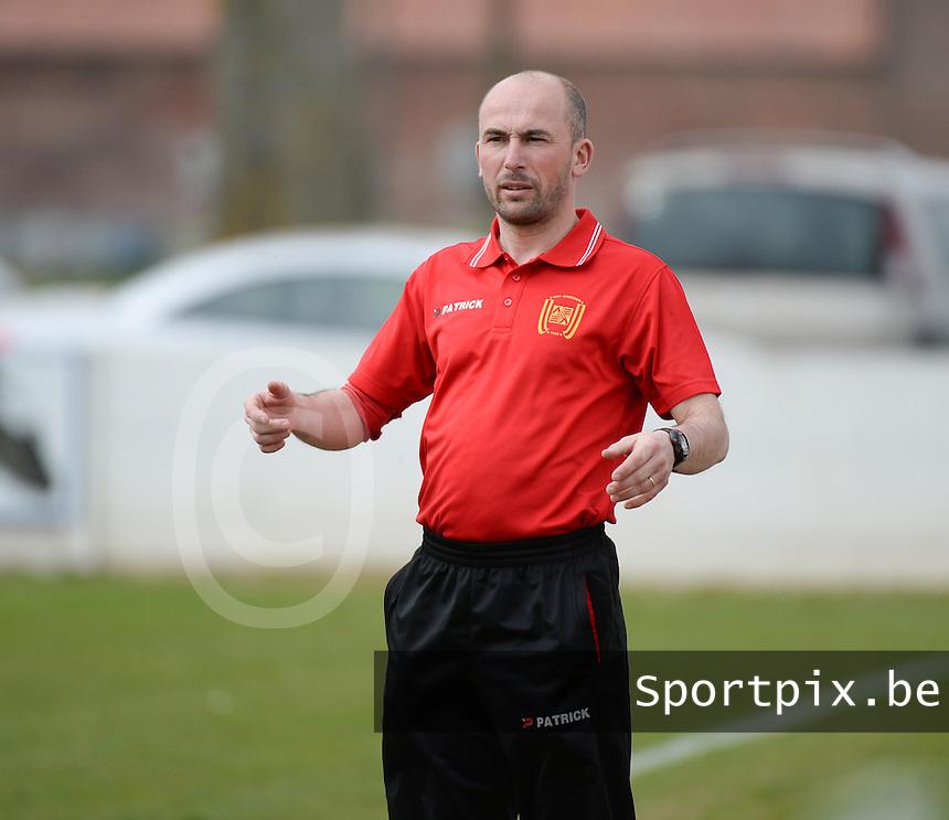 Anzegem : coach Andy De Jaegere <br /> foto VDB / BART VANDENBROUCKE
