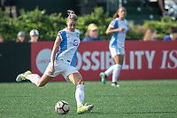 Allston, MA - Saturday August 19, 2017: Alanna Kennedy during a regular season National Women's Soccer League (NWSL) match between the Boston Breakers and the Orlando Pride at Jordan Field.