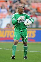 Chivas USA goalkeeper Zach Thornton (22).  DC United defeated Chivas USA 3-2 at RFK Stadium, Saturday  May 29, 2010.