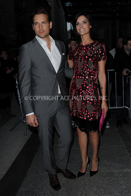 WWW.ACEPIXS.COM . . . . . .April 15, 2013...New York City....Peter Facinelli and Jaimie Alexander attend a screening of 'Pain and Gain' held at Crosby Street Hotel on April 15, 2013  in New York City. ....Please byline: KRISTIN CALLAHAN - WWW.ACEPIXS.COM.. . . . . . ..Ace Pictures, Inc: ..tel: (212) 243 8787 or (646) 769 0430..e-mail: info@acepixs.com..web: http://www.acepixs.com .