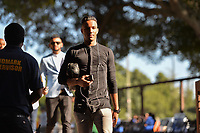 Stanford, CA - Saturday July 01, 2017: Danny Hoesen during a Major League Soccer (MLS) match between the San Jose Earthquakes and the Los Angeles Galaxy at Stanford Stadium.