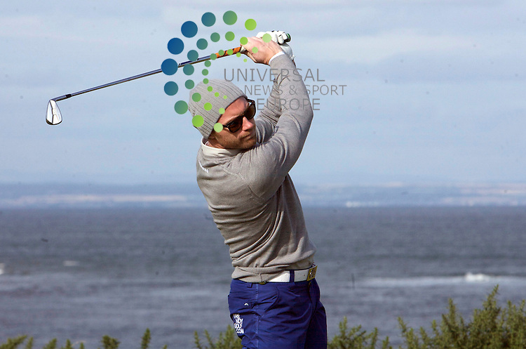 The Alfred Dunhill Golf Championship 2009 at The Old Course, St Andrews, Kingsbarns and Carnoustie.. .Ronan Keating during the First Round of the Alfred Dunhill Golf Championship...Picture by Mark Davison/ Universal News & Sport