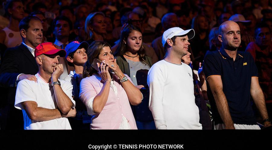 TEAM ROGER FEDERER (SUI)<br /> <br /> TENNIS , AUSTRALIAN OPEN,  MELBOURNE PARK, MELBOURNE, VICTORIA, AUSTRALIA, GRAND SLAM, HARD COURT, OUTDOOR, ITF, ATP, WTA<br /> <br /> &copy; TENNIS PHOTO NETWORK