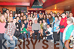 Double celebration : Vanessa Houlihan & Patricia Connolly, Ballyduff celebrating their 18th birthdays at Yer Man's Bar in Ballyduff with family & friends on Saturday night last,