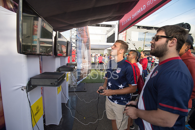 Harrison, NJ - Friday, September 1 2017: USMNT vs Costa Rica Sponsorship.