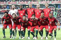 Formazione PORTOGALLO <br /> Portugal vs Bulgaria - Friendly match - Leiria - 03/25/2016<br /> Equipa de Portugal <br /> Foto Insidefoto