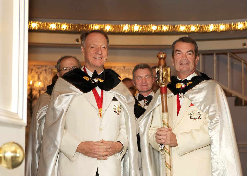 Ordres des Coteaux de Champagne gala dinner and awards ceremony at The Pierre Hotel, NYC