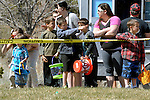 Children wait for the egg hunt to stard during the 7th Annual Easter Fiesta at Western Nevada College Saturday, March 26, 2016. The event, hosted by the Association of Latin American Students, had 3 separate egg hunts, face painting, limbo, musical chairs, ring toss, sack races, bowling,  food, music and a piñata.  <br />