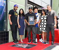 Ice Cube &amp; family at the Hollywood Walk of Fame star ceremony honoring actor/musician Ice Cube, Los Angeles, USA 12 June  2017<br /> Picture: Paul Smith/Featureflash/SilverHub 0208 004 5359 sales@silverhubmedia.com