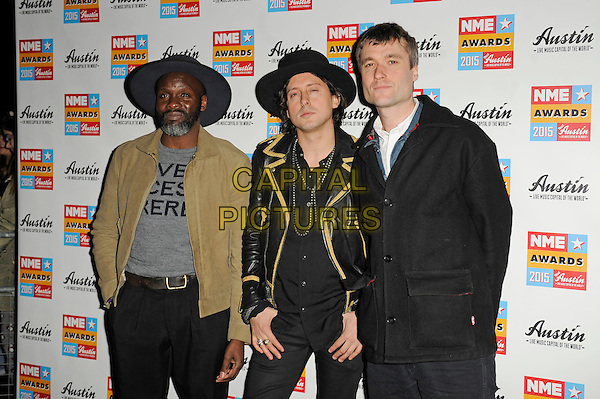 LONDON, ENGLAND - FEBRUARY 18: Libertines attending the NME Awards at Brixton Academy on February 18 2015 in London, England.<br /> CAP/MAR<br /> &copy; Martin Harris/Capital Pictures