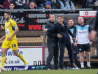 Wycombe Wanderers Manager Gareth Ainsworth during the Sky Bet League 2 match between Wycombe Wanderers and Accrington Stanley at Adams Park, High Wycombe, England on the 30th April 2016. Photo by Liam McAvoy / PRiME Media Images.