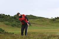 Amelia Garvey (NZL) on the 17th fairway during Matchplay Semi-Finals of the Women's Amateur Championship at Royal County Down Golf Club in Newcastle Co. Down on Saturday 15th June 2019.<br /> Picture:  Thos Caffrey / www.golffile.ie