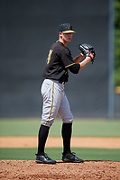 Pittsburgh Pirates pitcher Blake Weiman (74) gets ready to deliver a pitch during a Florida Instructional League game against the New York Yankees on September 25, 2018 at Yankee Complex in Tampa, Florida.  (Mike Janes/Four Seam Images)