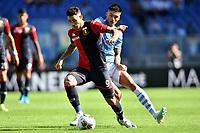Antonio Sanabria of Genoa , Joaquin Correa of SS Lazio <br /> Roma 29-9-2019 Stadio Olimpico <br /> Football Serie A 2019/2020 <br /> SS Lazio - Genoa CFC <br /> Foto Andrea Staccioli / Insidefoto