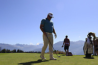 Ryan Fox (NZL) on the 7th tee during Saturday's Round 3 of the 2018 Omega European Masters, held at the Golf Club Crans-Sur-Sierre, Crans Montana, Switzerland. 8th September 2018.<br /> Picture: Eoin Clarke | Golffile<br /> <br /> <br /> All photos usage must carry mandatory copyright credit (&copy; Golffile | Eoin Clarke)
