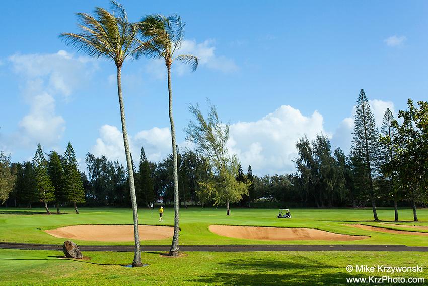 Fazio golf course at Turtle Bay Resort, North Shore, Oahu