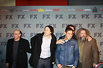 Sons of Anarchy cast on the red carpet at FX 2012 Ad Sales Upfront held on March 29, 2012 at Lucky Stirke, New York, New York. (Photo by Sue Coflin/Max Photos)