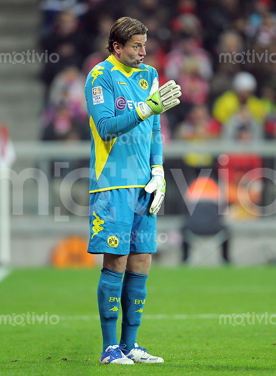 FUSSBALL   1. BUNDESLIGA  SAISON 2011/2012   13. Spieltag FC Bayern Muenchen - Borussia Dortmund        19.11.2011 Torwart Roman Weidenfeller (Borussia Dortmund)
