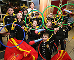 Sophia Maloney, General Manager of McDonalds, Drogheda with members of Dunleer Athletics Club, Gary Campbell, Shauna Campbell, Kevin Ledwith, Conor Matthews, Emma Cheshire, Ciara Butterly, Aoibheanna Campbell, Mark Byrnes, Seoda Matthews and Ronan Kelly after she presented them with the McDonald's Little Athletic Pack as part of a Nationwide Programme which is encouraging and providing the resources for children to become involved in grassroots athletics...Photo NEWSFILE/Jenny Matthews.(Photo credit should read Jenny Matthews/NEWSFILE)....This Picture has been sent you under the condtions enclosed by:.Newsfile Ltd..The Studio,.Millmount Abbey,.Drogheda,.Co Meath..Ireland..Tel: +353(0)41-9871240.Fax: +353(0)41-9871260.GSM: +353(0)86-2500958.email: pictures@newsfile.ie.www.newsfile.ie.FTP: 193.120.102.198.