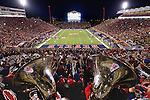 Ole Miss Pride of the South Marching Band. Photo by Nathan Latil/Ole Miss Communications