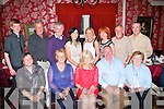 Bridie Hogan Connelly, O'Rahilly's Villas, Tralee (seated centre) celebrating her 50th birthday with family and friends in Cassidy's restaurant, Tralee last Saturday night, seated lr-: Ann Hogan, Eileen Comerford, Bridie Hogan-Connelly, Paul Connelly and Maura Hogan. Back l-r: Liam Gibbs, Paul O'Connor, Tim Hogan, Mary McLoughlin, Martina O'Connor, Katherine Gibbs, Peter Comerford and Colm McLoughlin.