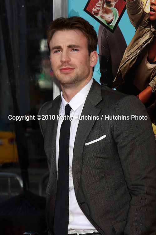 """Chris Evans.arrives at """"The Losers"""" Premiere.Grauman's Chinese Theater.Los Angeles, CA.April 20, 2010.©2010 Kathy Hutchins / Hutchins Photo..."""
