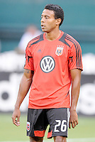 D.C. United forward Lionard Pajoy (26) D.C. United defeated The Chicago Fire 4-2 at RFK Stadium, Wednesday August 22, 2012.