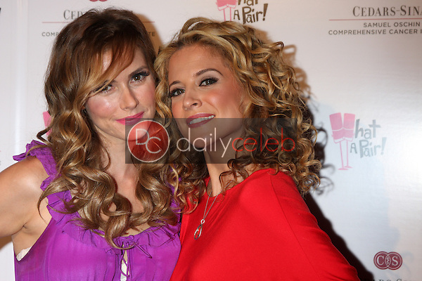 Brianna Brown, Alexis Carra<br /> at the &quot;What a Pair&quot; 10th Anniversary Concert, Saban Theater, Beverly Hills, CA 05-31-14<br /> David Edwards/DailyCeleb.com 818-249-4998