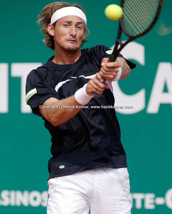 17-4-06, Monaco, Tennis,Master Series, Ferrero in action against Tursunov