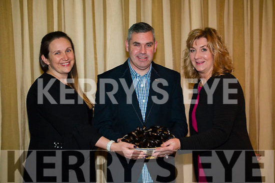 Blue supper fundraiser for Templenoe Gaa Yvonne O'Sullivan, Noel O'Sullivan and Mary O'Callaghan