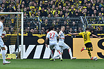 11.05.2019, Signal Iduna Park, Dortmund, GER, DFL, 1. BL, Borussia Dortmund vs Fortuna Duesseldorf, DFL regulations prohibit any use of photographs as image sequences and/or quasi-video<br /> <br /> im Bild Mario Götze / Goetze (#10, Borussia Dortmund) macht das Tor zum 3:1<br /> <br /> Foto © nordphoto/Mauelshagen