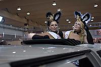 SAO PAULO, SP, 27.03.2014 - EROTIKA FAIR 2014. Coelhinhas Plus Size  durante abertura da  21 Erotika Fair - Feira Internacional de Produtos e Serviços do Mercado Adulto. A feira acontece de 27 a 30 de março no centro de Exposicoes Imigrantes, na zona sul da capital paulista. (Foto:Adriana Spaca/Brazil Photo Press)