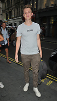 Caspar Lee at the Daisie new app launch party, The Perception at W London Hotel, Wardour Street, London, England, UK, on Friday 03 August 2018.<br /> CAP/CAN<br /> &copy;CAN/Capital Pictures