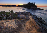 Saturna Island, British Columbia<br /> Sunset on Winter Cove at Boat Pass, Canadian Gulf Islands