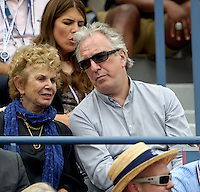 September 3, 2012: Actor Alan Rickman attends Day 8 of the 2012 U.S. Open Tennis Championships at the USTA Billie Jean King National Tennis Center in Flushing, Queens, New York, USA. © mpi105/MediaPunch Inc. /NortePhoto.com<br />