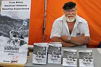 Skipper finlandese Pekka Piri. The Finish Skipper Pekka Piri.<br /> .Kauppatori, la Piazza del Mercato di Helsinki. Kauppator marketplace