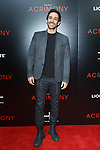 """Actor Amir Arison arrives on the red-carpet for the Tyler Perry""""s ACRIMONY movie premiere at the School of Visual Arts Theatre in New York City, on March 27, 2018."""