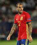 Spain's Sandro Ramirrez in action during the UEFA Under 21 Final at the Stadion Cracovia in Krakow. Picture date 30th June 2017. Picture credit should read: David Klein/Sportimage