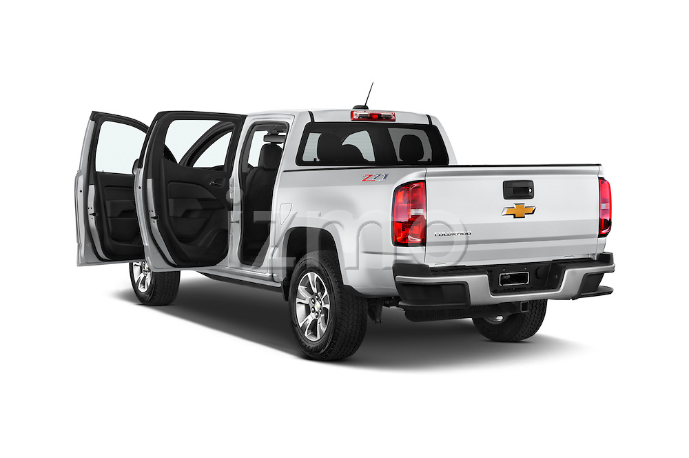 Car images of a 2015 Chevrolet Colorado Z71 Crew Cab 4 Door Pick Up Doors