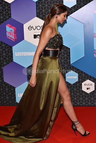 Deepika Padukone<br /> 2016 MTV EMAs in Ahoy Arena, Rotterdam, The Netherlands on November 06, 2016.<br /> CAP/PL<br /> &copy;Phil Loftus/Capital Pictures /MediaPunch ***NORTH AND SOUTH AMERICAS ONLY***