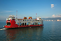 Penang Ferry Service is the oldest ferryboat service in Malaysia. The ferry connects Sultan Abdul Halim ferry terminal in Butterworth to Raja Tun Uda ferry terminal at Weld Quay in George Town on Penang Island.  The ferry service began operation in 1920, under the management of a Chinese-owned company. However, today, it is jointly operated by the Penang Port Commission (PPC) and Penang Port Sdn Bhd.