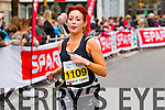 Michelle Dempsey, 1109 who took part in the 2015 Kerry's Eye Tralee International Marathon Tralee on Sunday.