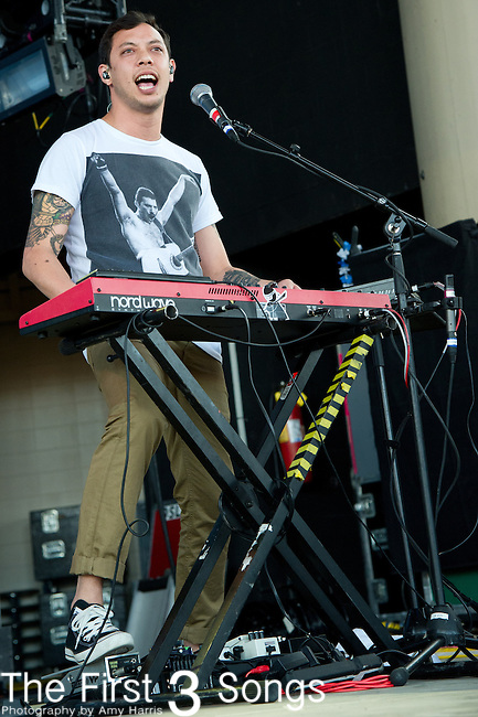 Kenny Carkeet of AWOLNATION performs at the Klipsch Music Center in Indianapolis, IN.