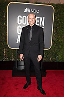 Nominated for BEST DIRECTOR &ndash; MOTION PICTURE for &quot;Three Billboards Outside Ebbing, Missouri,&quot; director Martin McDonagh arrives at the 75th Annual Golden Globe Awards at the Beverly Hilton in Beverly Hills, CA on Sunday, January 7, 2018.<br /> *Editorial Use Only*<br /> CAP/PLF/HFPA<br /> &copy;HFPA/Capital Pictures