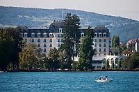Europe/France/Rhône-Alpes/74/Haute-Savoie/Annecy: les bords du Lac et l'Hôtel Impérial Palace