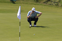 Robert Macintyre (SCO) on the 6th green during Thursday's Round 1 of the Dubai Duty Free Irish Open 2019, held at Lahinch Golf Club, Lahinch, Ireland. 4th July 2019.<br /> Picture: Eoin Clarke | Golffile<br /> <br /> <br /> All photos usage must carry mandatory copyright credit (© Golffile | Eoin Clarke)