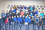 A great haul of medals were presented on Friday night last to players from St Marys and Renard GAA clubs pictured here players from the Renard U12's(Co League Winners), St Marys U13's(Group E County League Winners), St Marys/Renard U14's(Div 7 Co League Winners) & St Marys/Renard U16's(Group 3 County League Winners).  The Medals were presented by Killian Young(Renard) & Bryan Sheehan(St Marys) pictured centre.